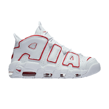 Air More Uptempo 'White Varsity Red' 2021