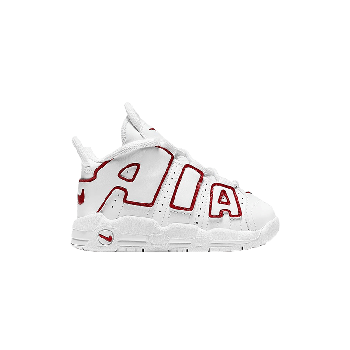 Air More Uptempo TD 'White Varsity Red' 2021